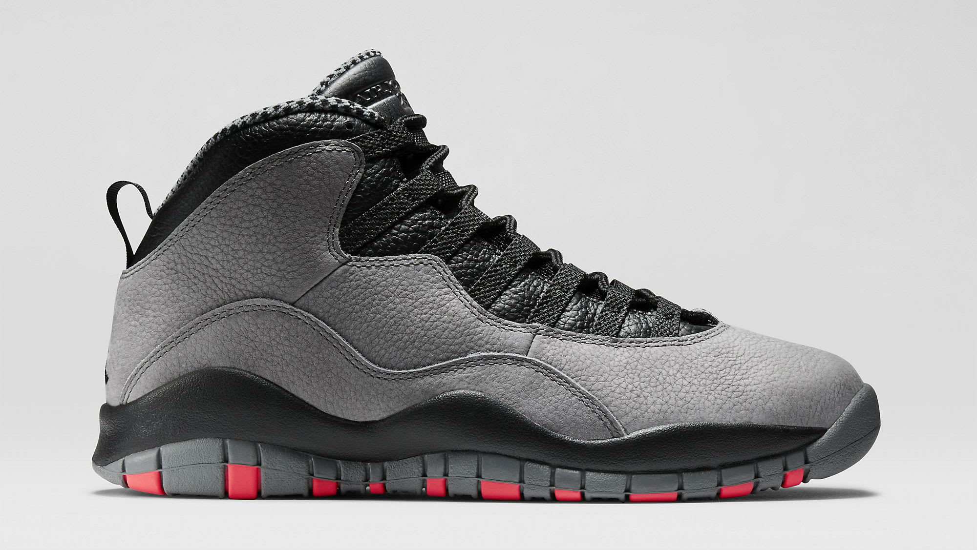 Air Jordan 10 X Cool Grey Infrared Release Date 310805-023