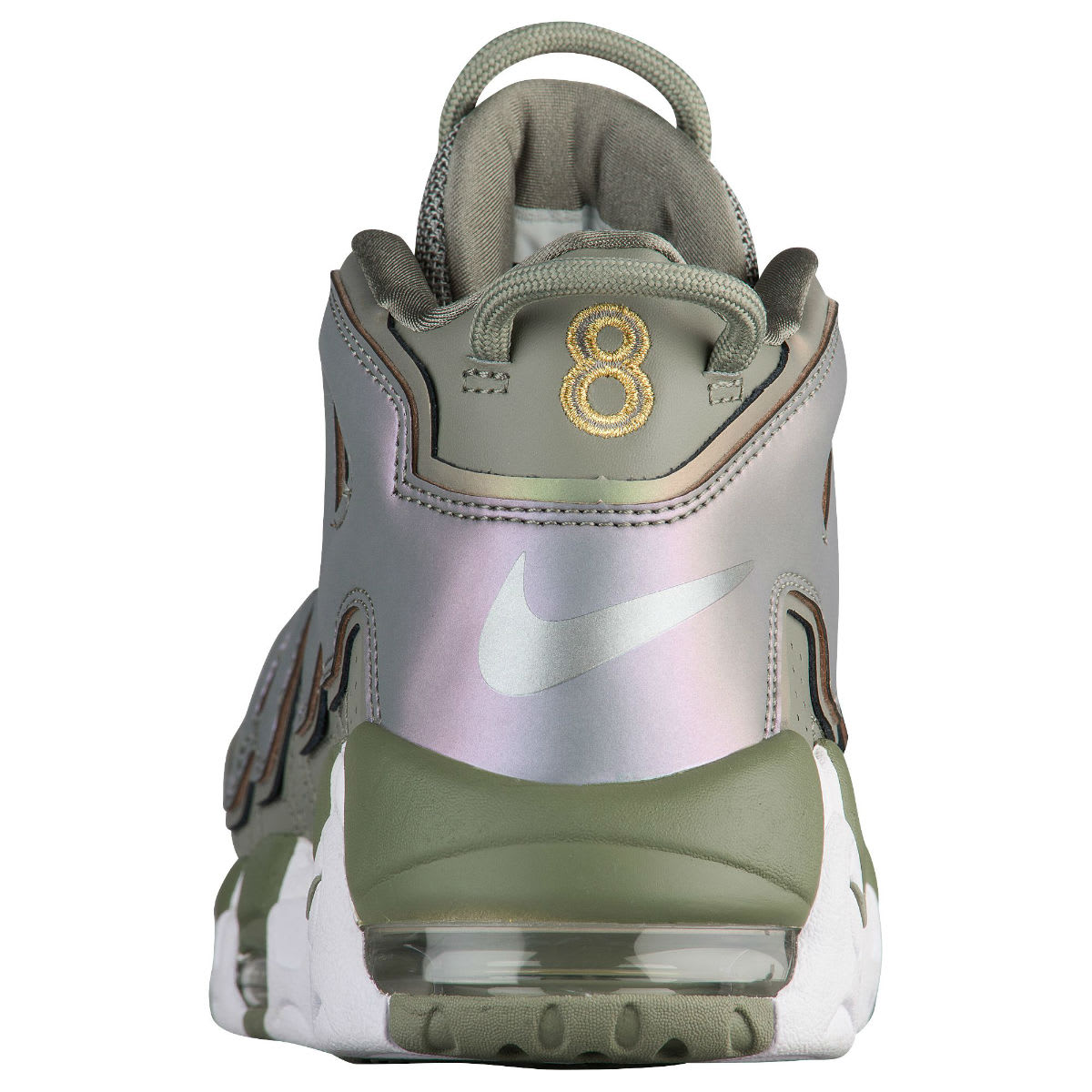 Nike Air More Uptempo Women's Dark Stucco Release Date Heel 917593-001
