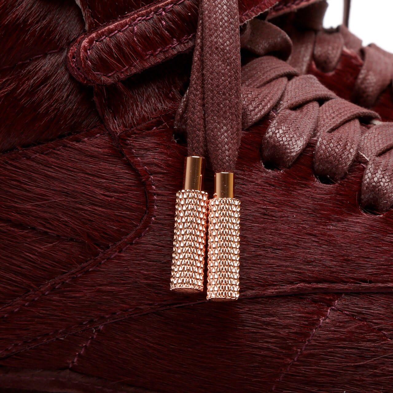 Amber Rose Reebok Muva Fuka Sneakers Lace Tips