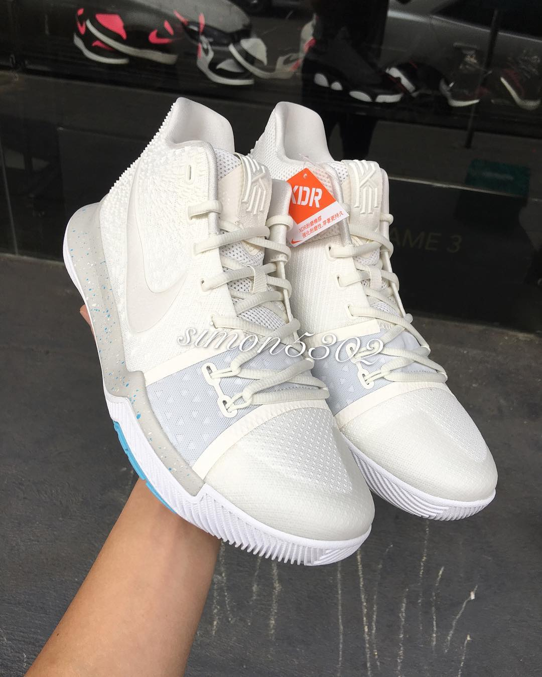 sale retailer a2733 910b9 ... Nike Kyrie 3 Ivory Release Date 852395-101 (7) ...
