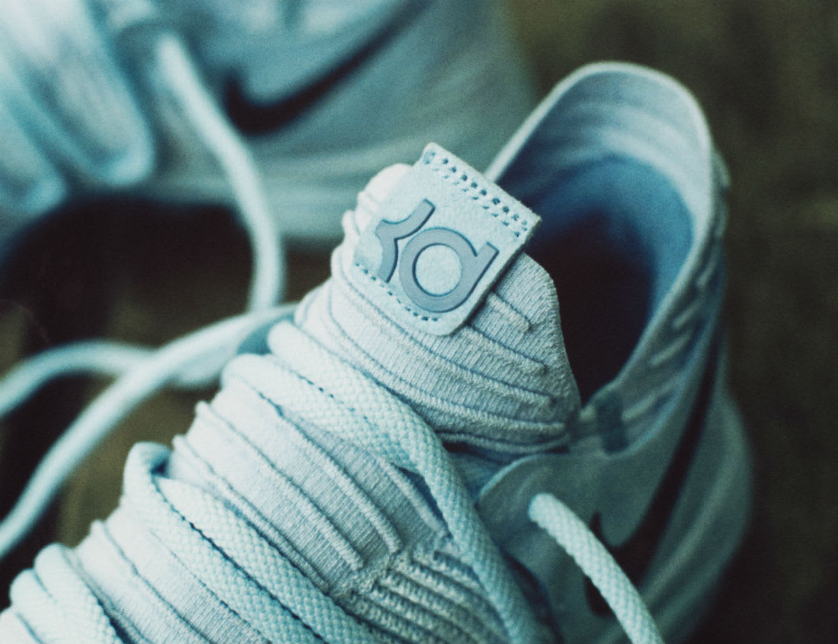 Nike KD 10 Anniversary Release Date Tongue