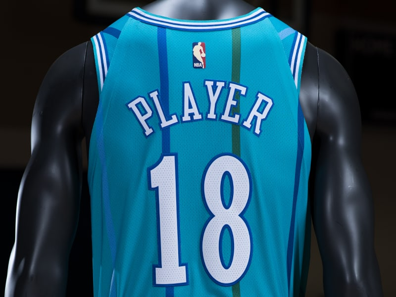 Charlotte Hornets Nike Classic Edition Throwback Jersey 1