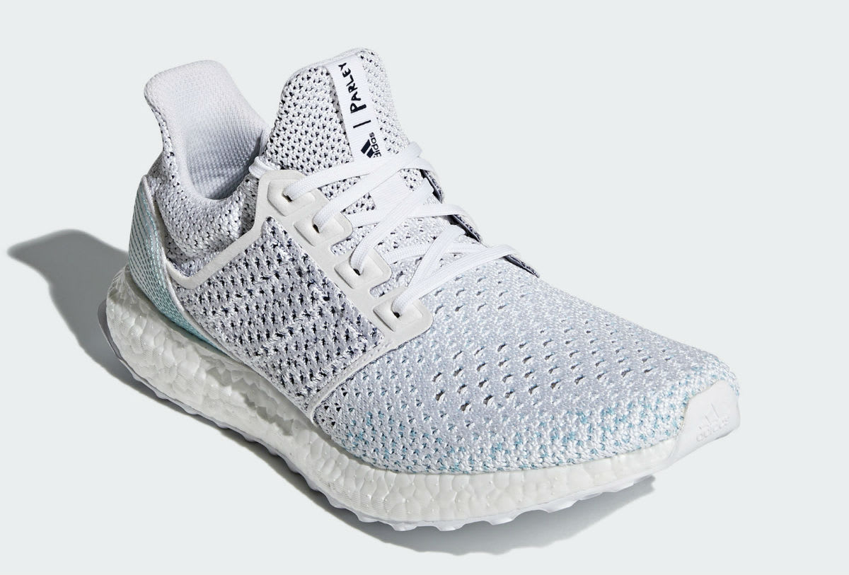 Parley x Adidas Ultra Boost LTD Release Date BB7076 Front