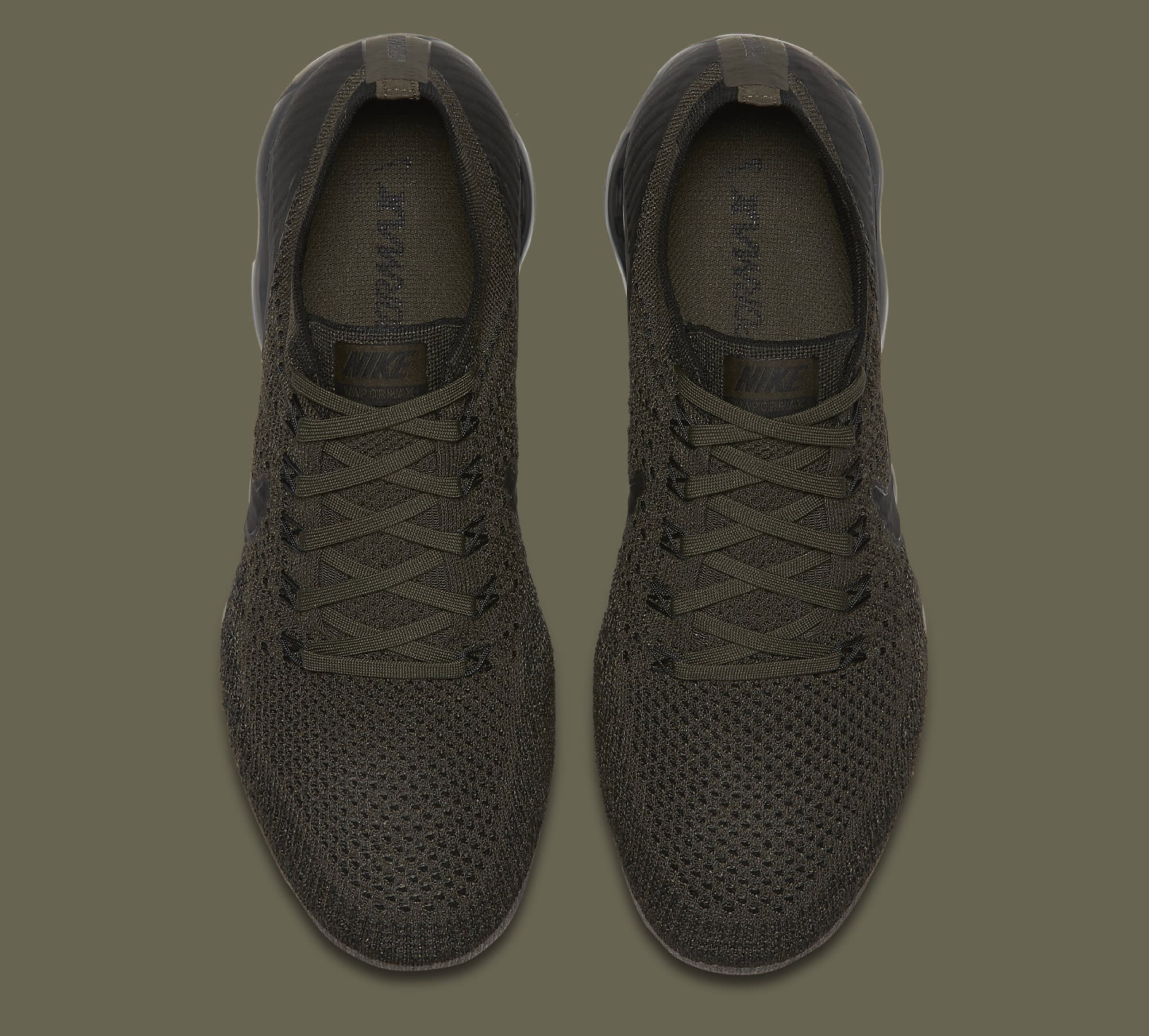 Cargo Khaki Nike VaporMax 849558-300 Top