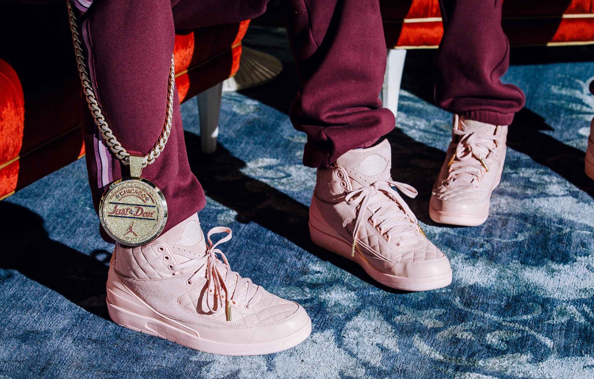 Jordan 2 Don C On Feet