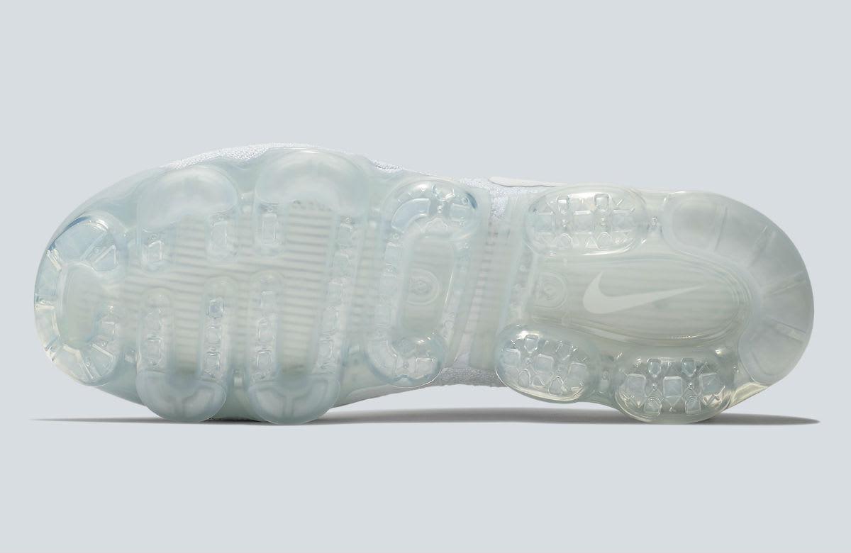 Nike Air VaporMax 2 White Pure Platinum Release Date 942842-100 Sole