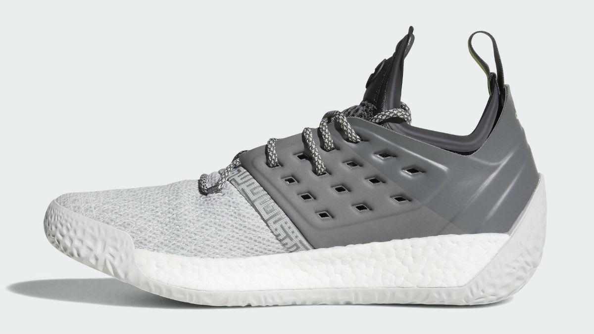Adidas Harden Vol. 2 Concrete Grey Release Date AH2122 Medial