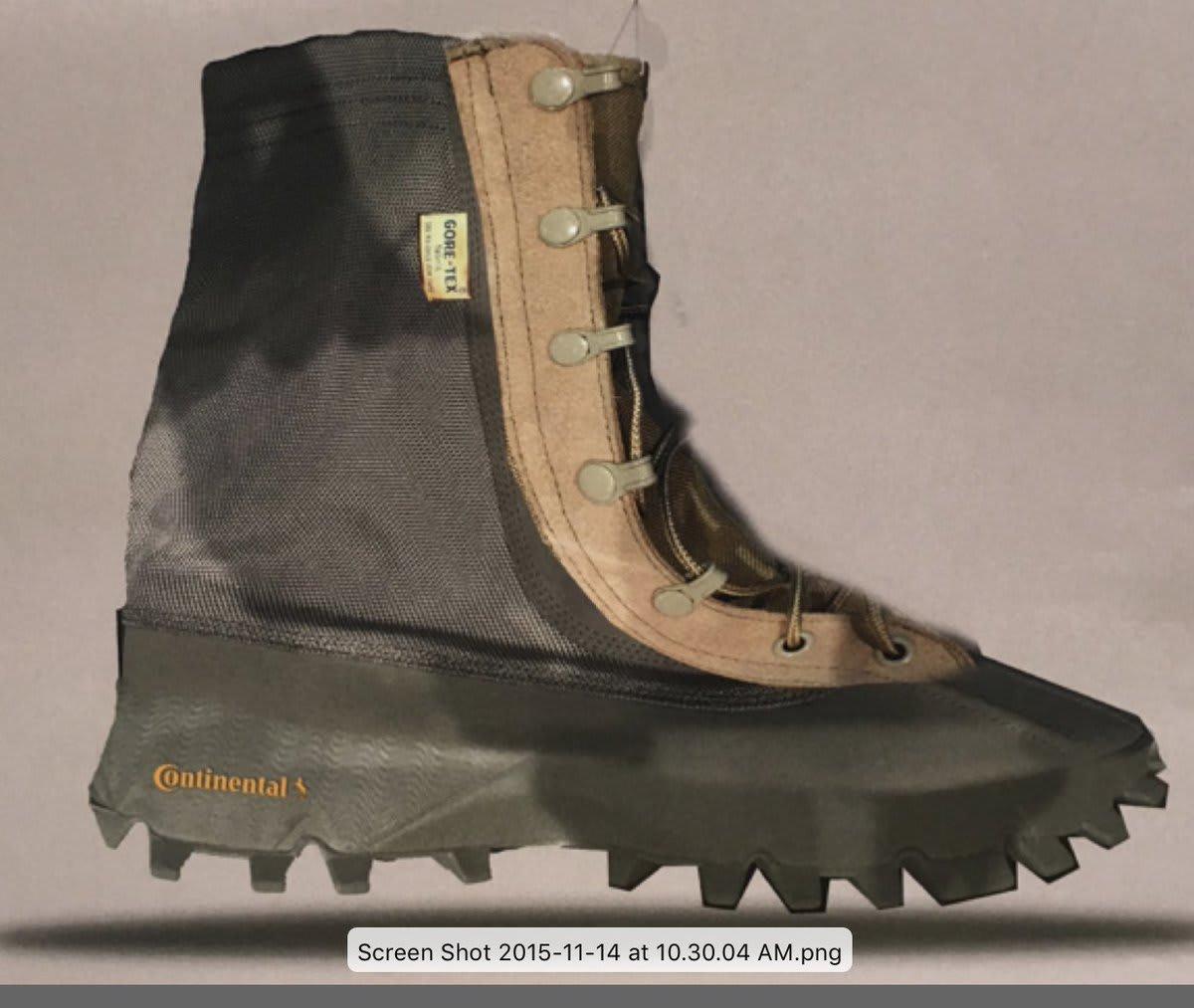 Kanye West Yeezy 1050 Boot