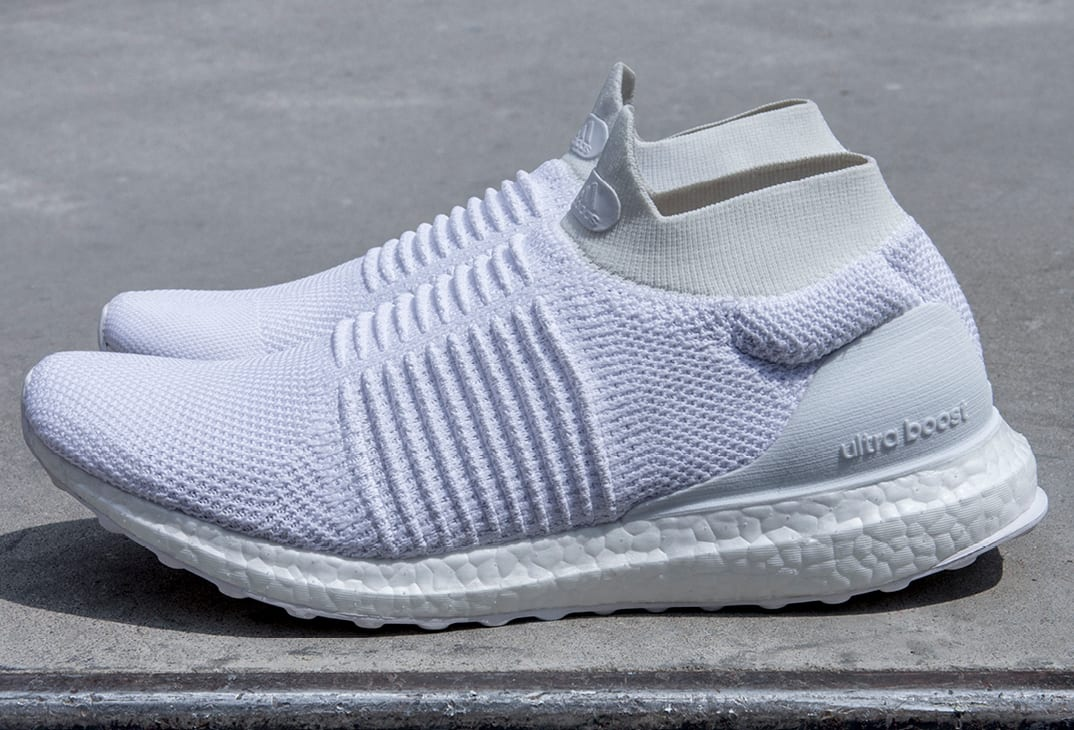 Adidas UltraBOOST Laceless White (Pair)