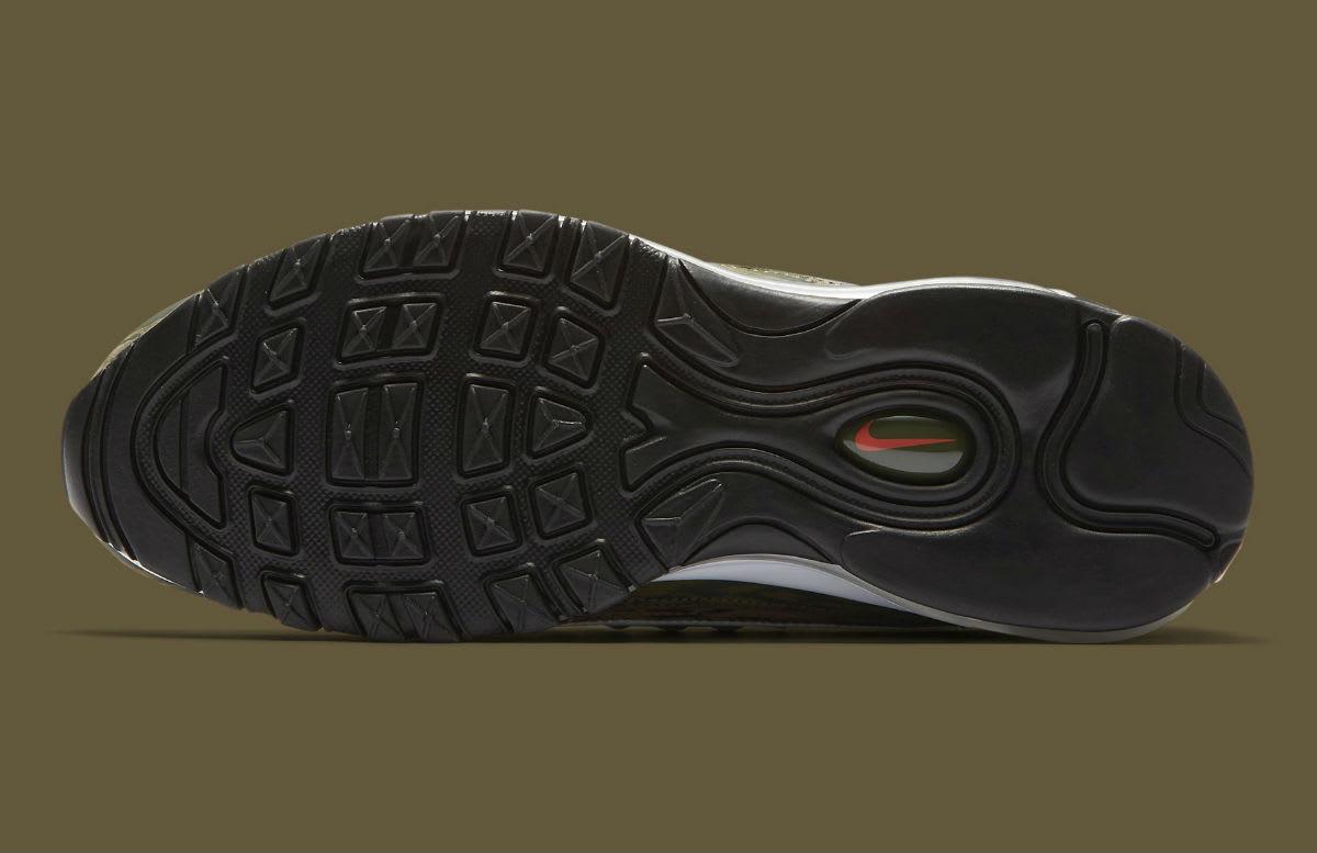Nike Air Max 98 AOP Camo Khaki Release Date AQ4130-200 Sole