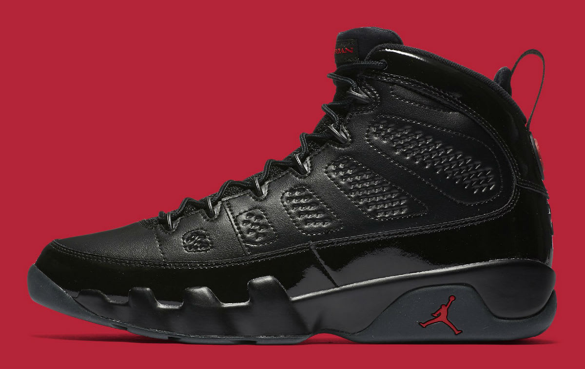 reputable site c6cc7 580ac ... retro low Air Jordan 9 IX Bred Release Date 302370-014 Profile ...