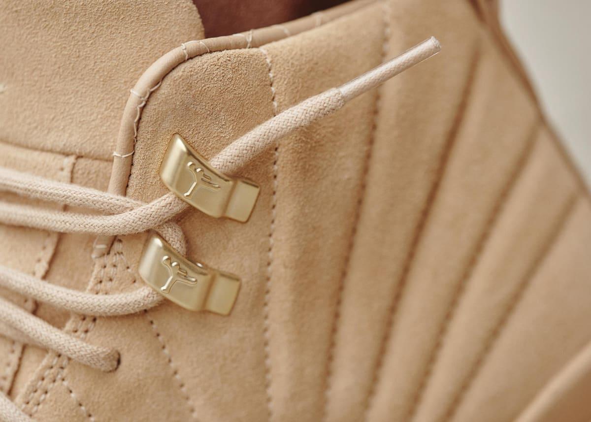 Vachetta Tan Air Jordan 12 Collar