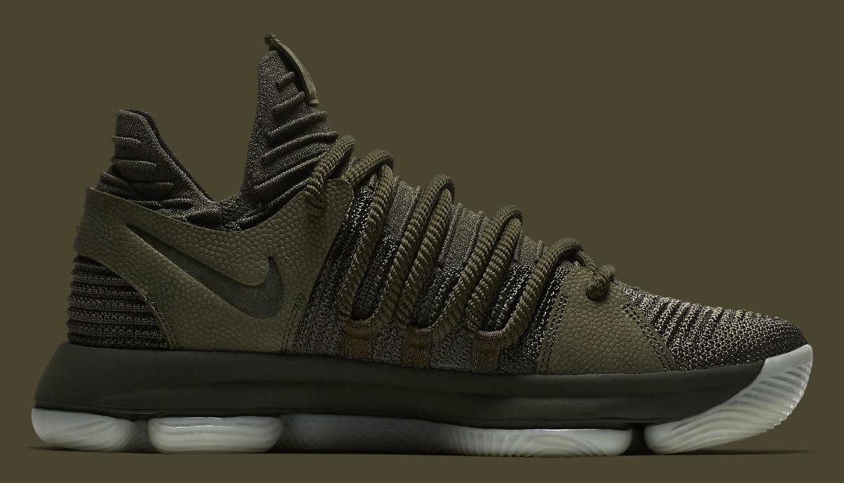 NikeLab KD 10 Olive Release Date Medial 943298-900