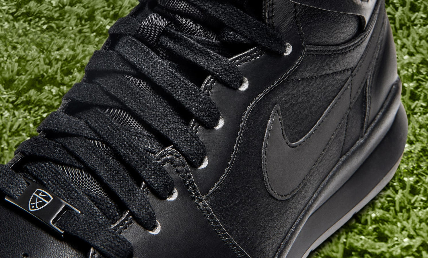 Air Jordan 1 Golf Black Detail
