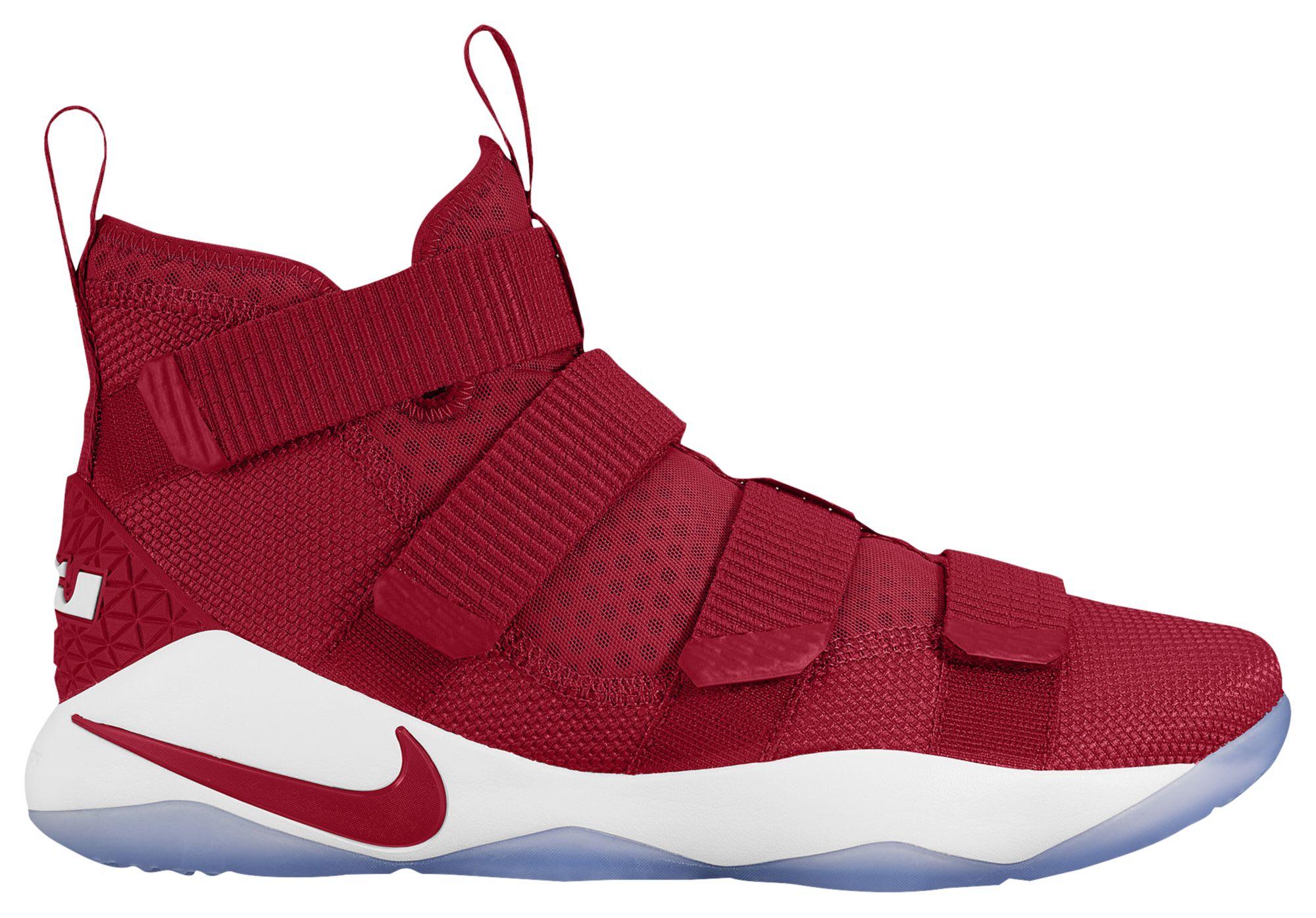 49bc0af7b13e ... Nike LeBron Soldier 11 TB Gym Red ...