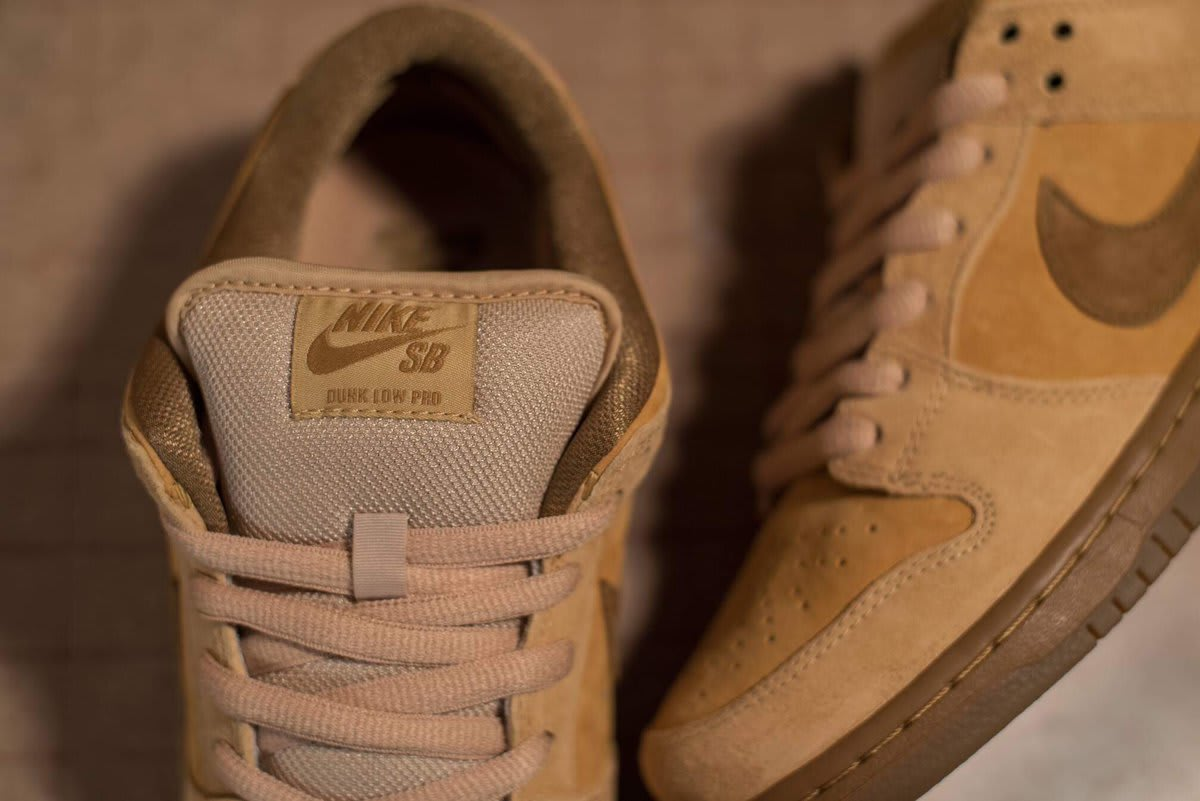Wheat Nike SB Dunk Low Reese Forbes 2017 Tongue