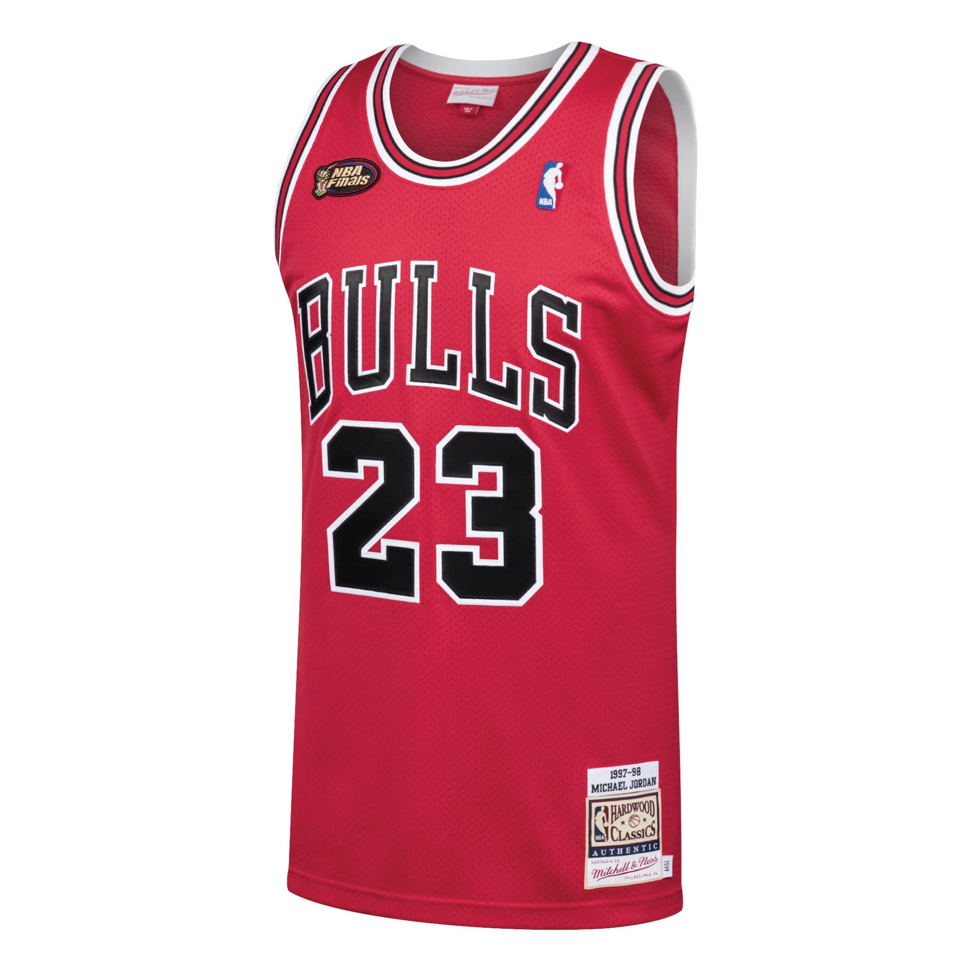 Mitchell and Ness Michael Jordan 1997-98 NBA Finals Jersey (Front)