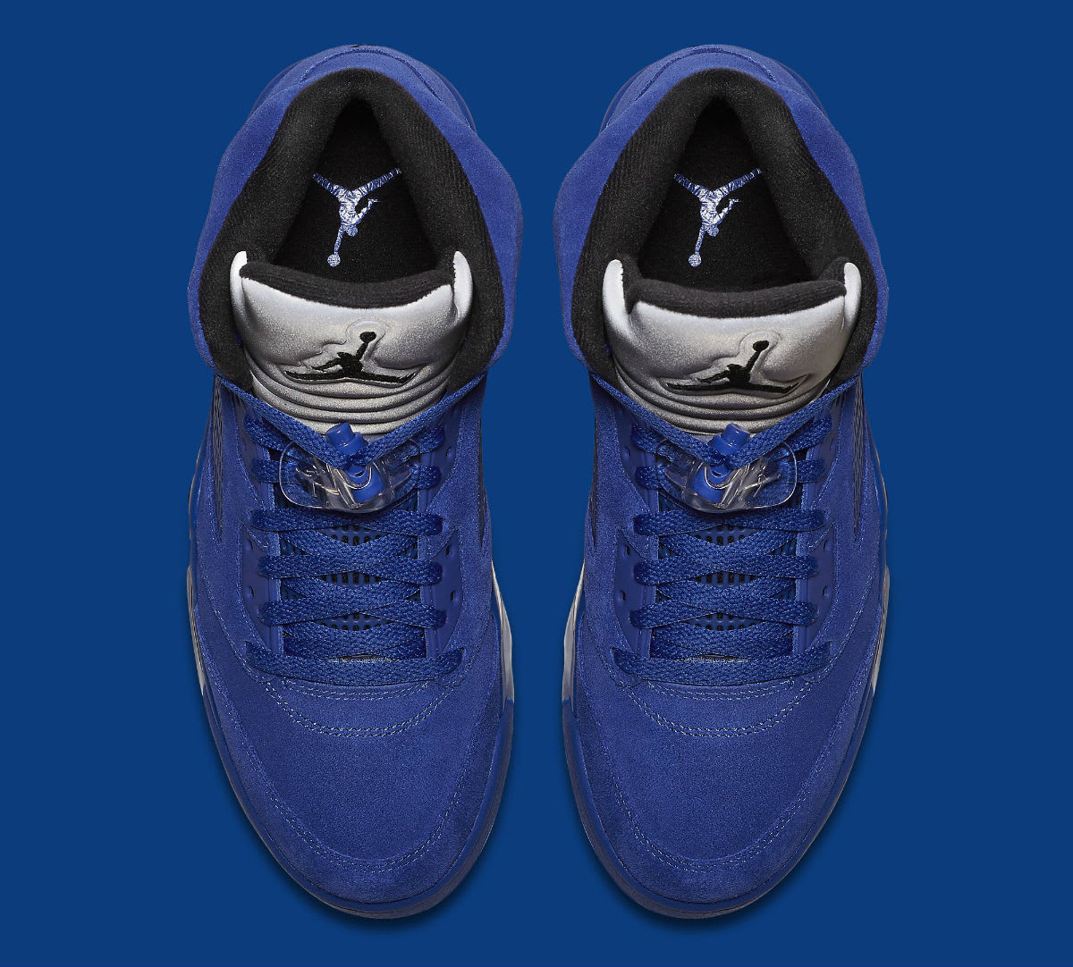 Air Jordan 5 Royal Blue Suede Flight Suit Release Date Top 136027-401