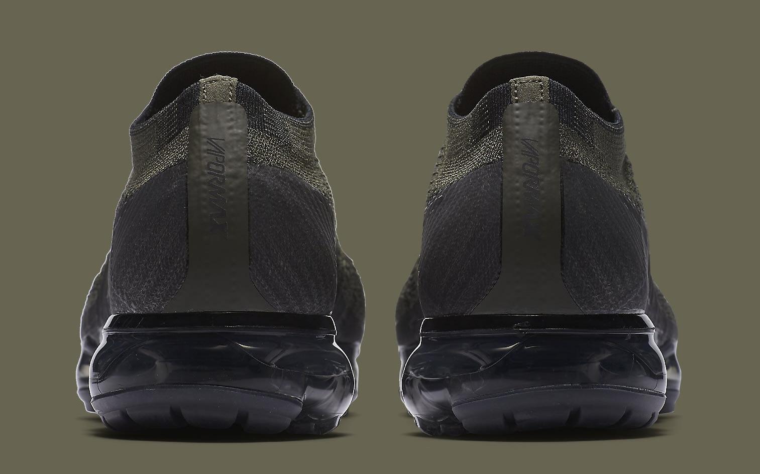Cargo Khaki Nike VaporMax 849558-300 Heel