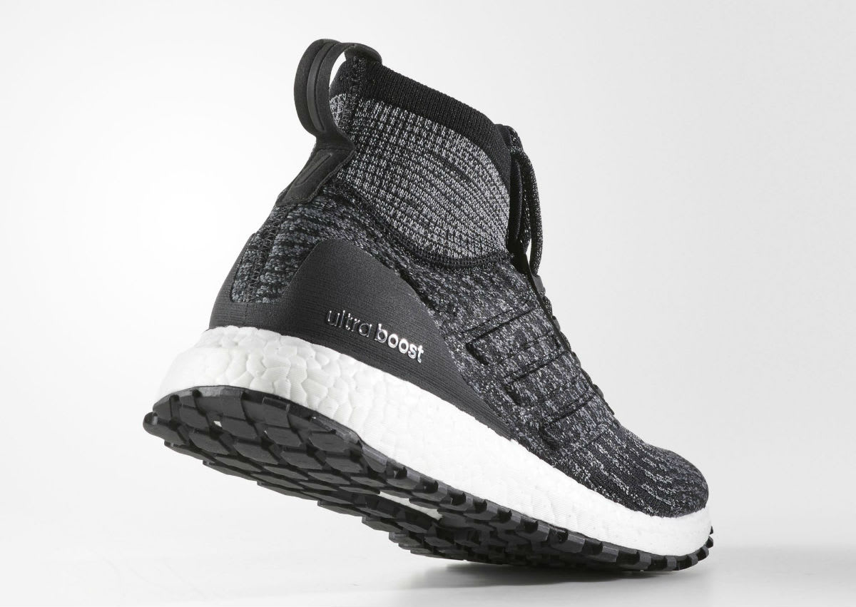 Adidas Ultra Boost ATR Mid Black White Oreo Release Date Lateral S82036