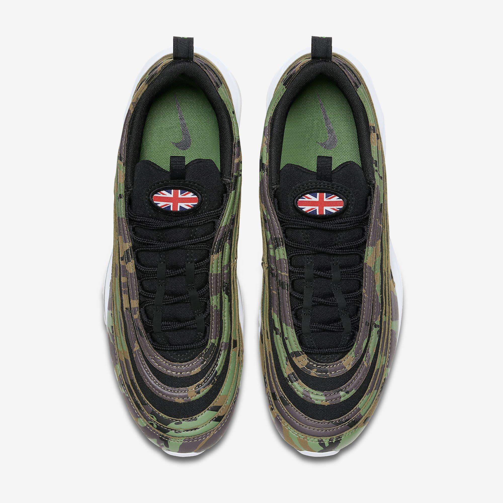 Nike Air Max 97 'Country Camo' UK AJ2614-201 (Top)