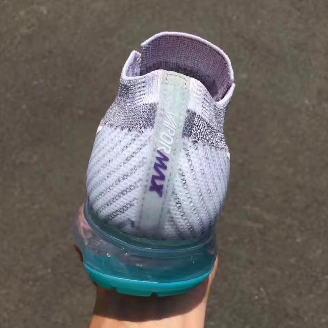 Nike Air VaporMax Grape Release Date Heel