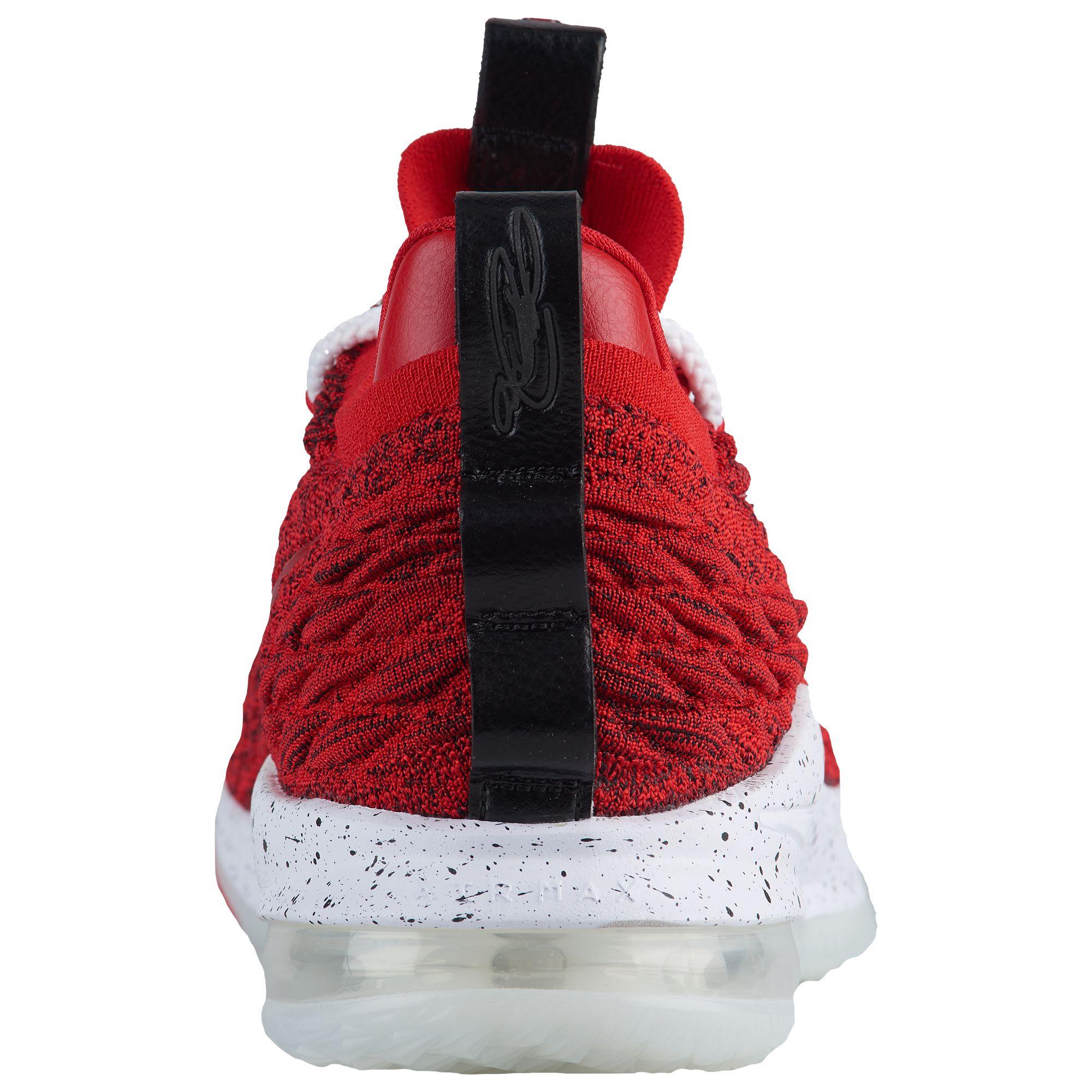 new style 68997 5d32f ... shopping image via champs sports nike lebron 15 low university red  ao1755 600 8be77 36e6e