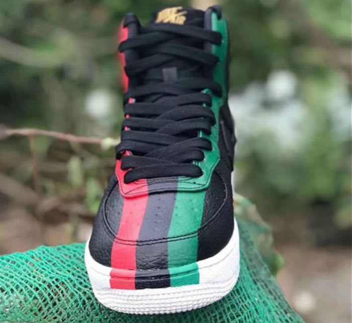BHM Nike Air Force 1 High 2018 Release Date Front