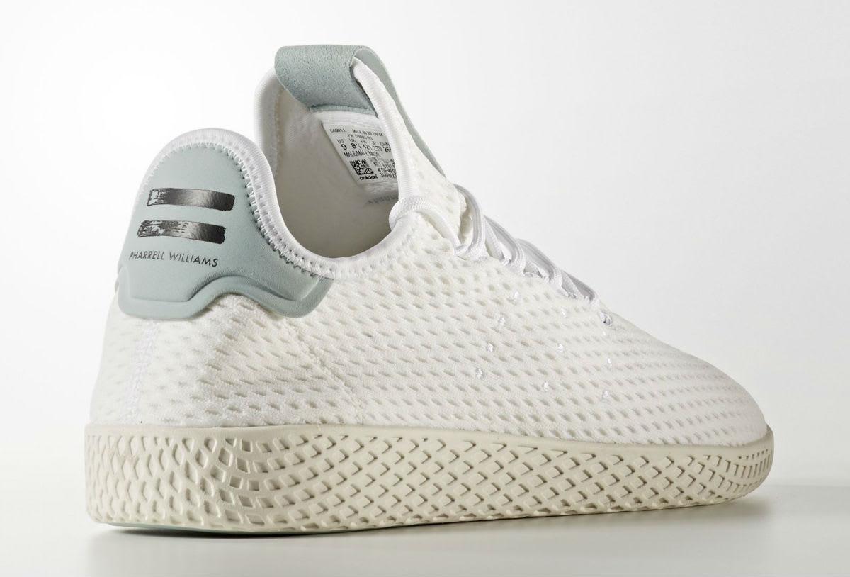 Pharrell x Adidas Tennis Hu Grey Heel
