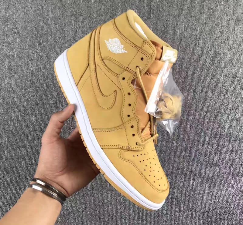 Air Jordan 1 High Golden Harvest Wheat Release Date 555088-710 (1)