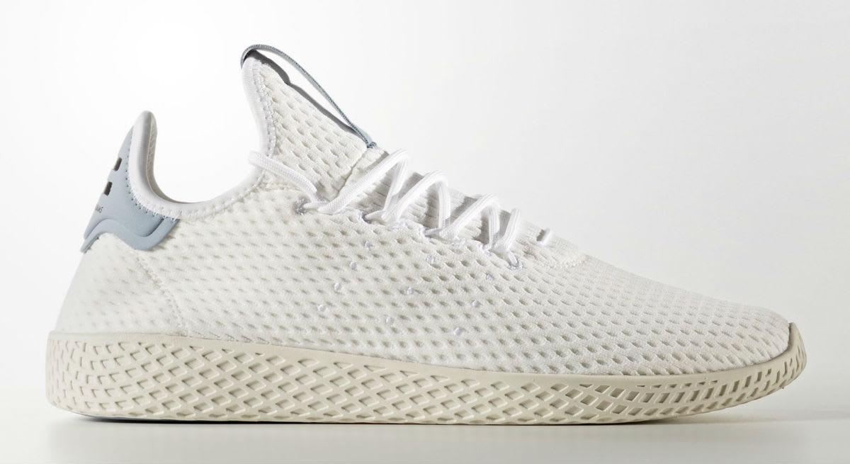 Pharrell x Adidas Tennis Hu Ash Profile