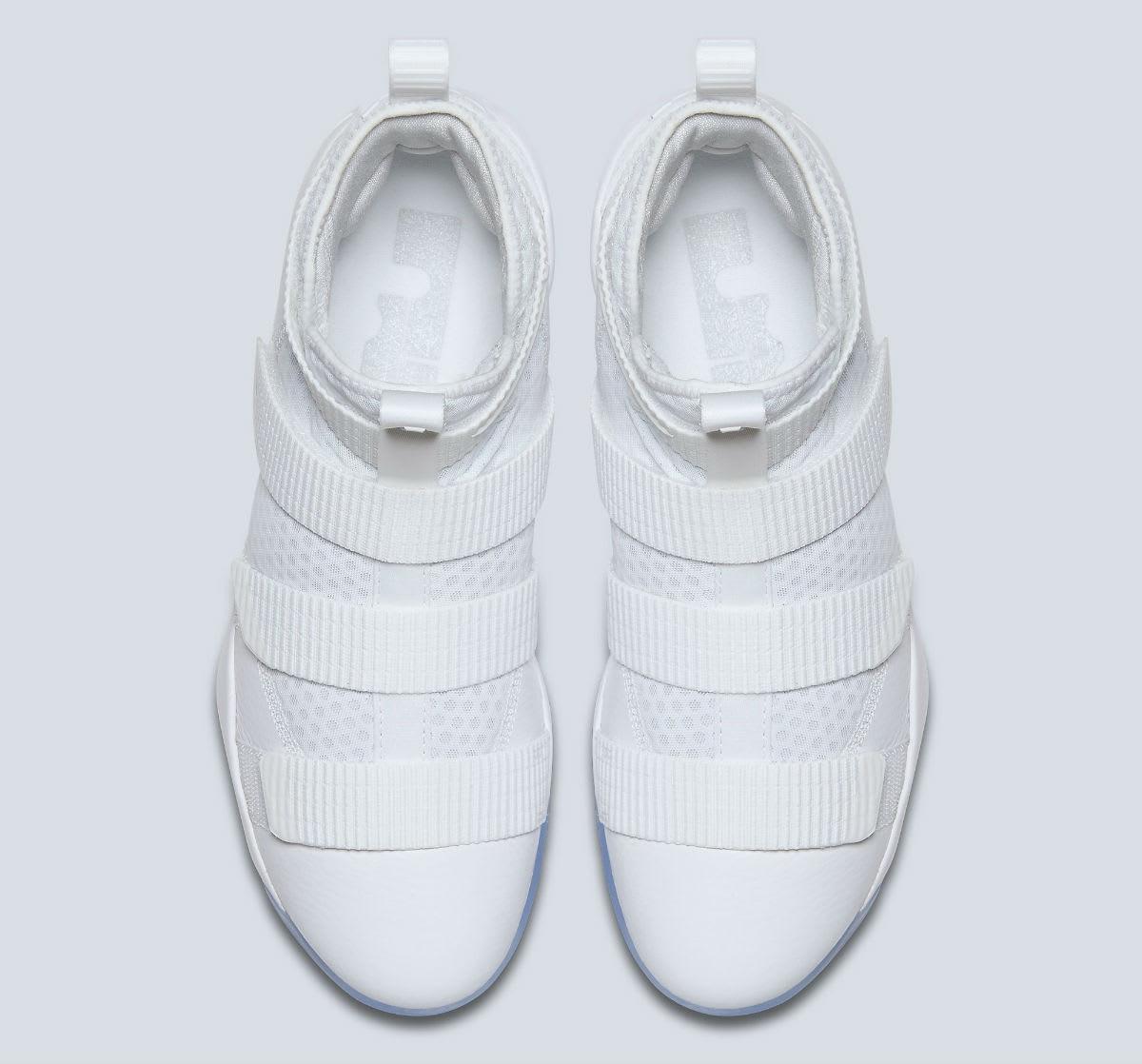497e1c69c3e11 ... Nike LeBron Soldier 11 White Release Date Top 897644-103 ...