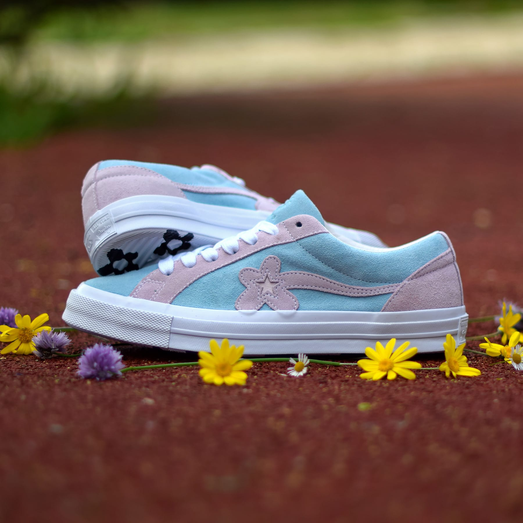Tyler, the Creator x Converse One Star Golf Le Fleur Release Date Blue Pink