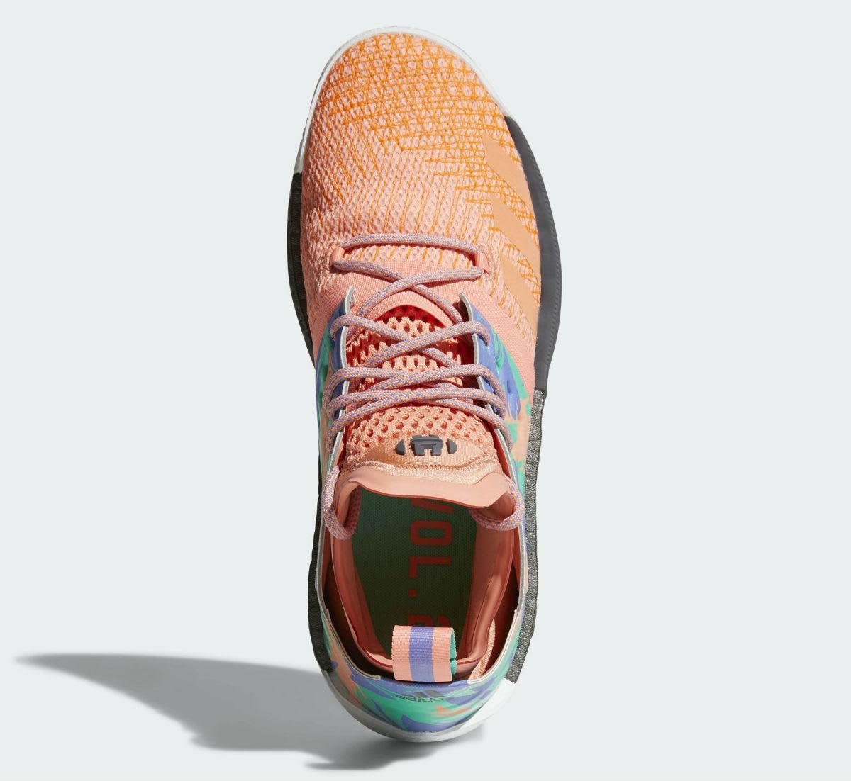 Adidas Harden Vol. 2 Orange Release Date AH2219 Top