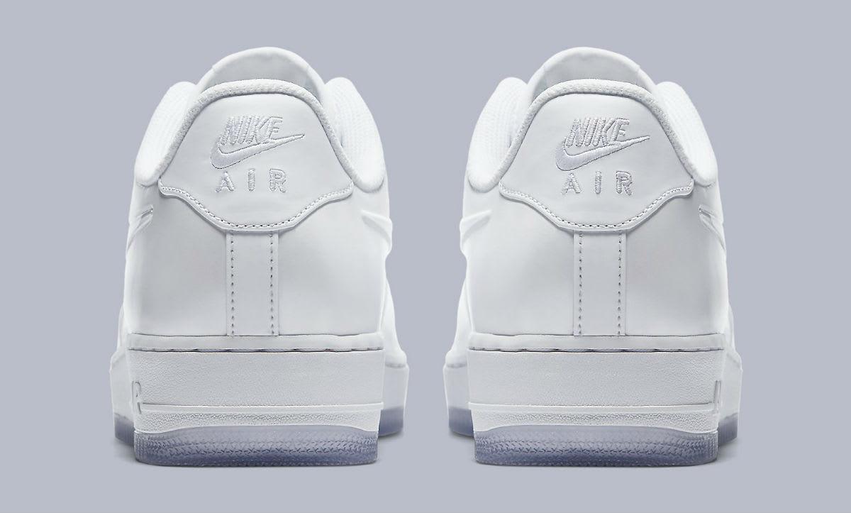 Nike Air Force 1 Foamposite Pro Cup White Release Date AJ3664-100 Heel