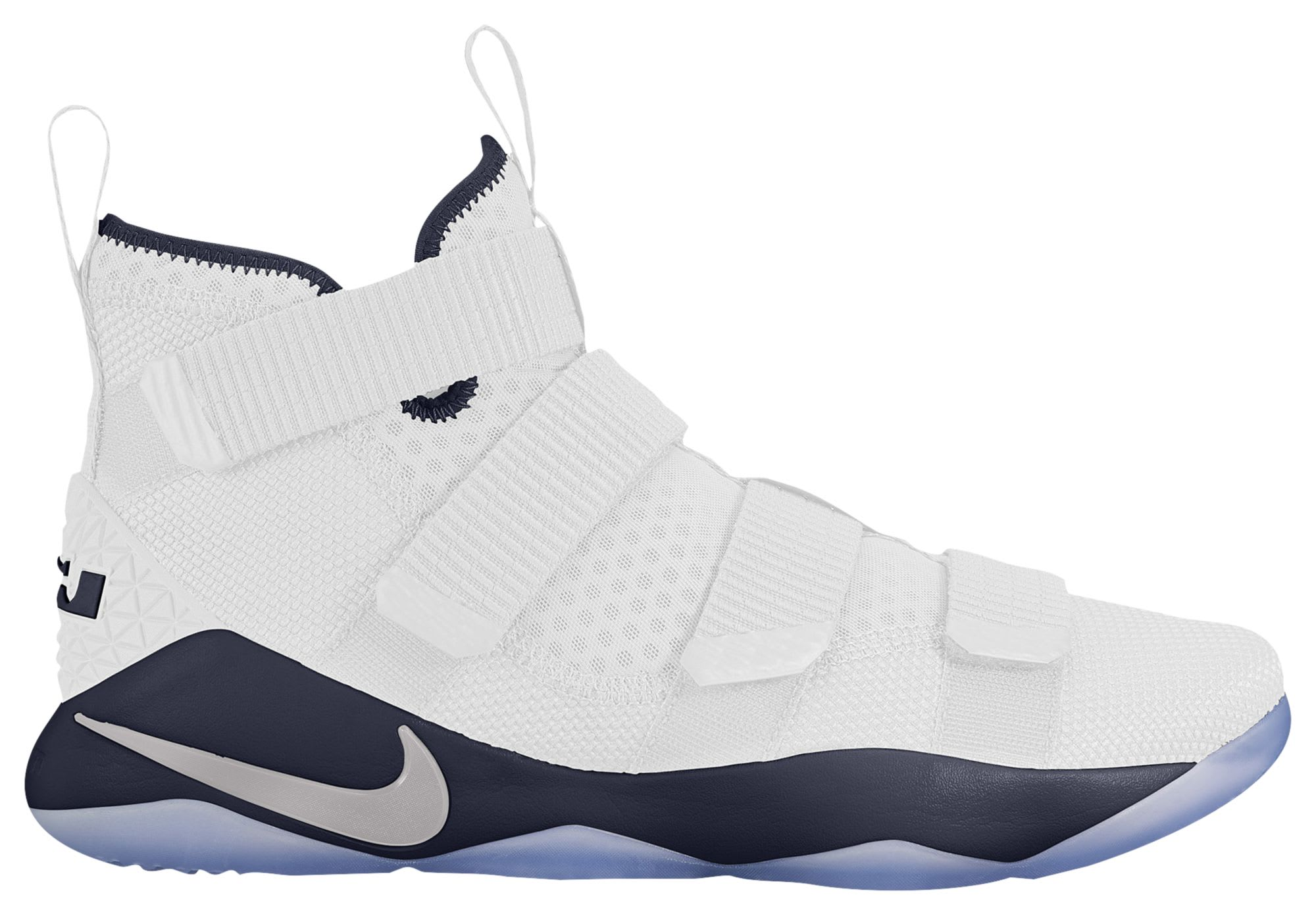 Nike LeBron Soldier 11 White Navy