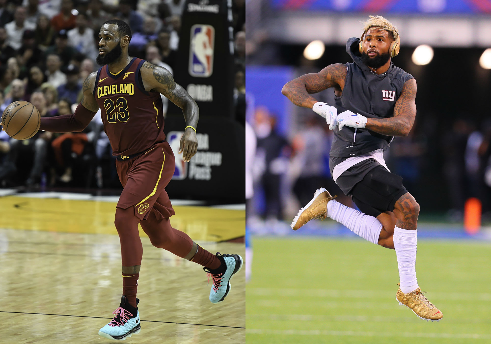 LeBron James & Odell Beckham