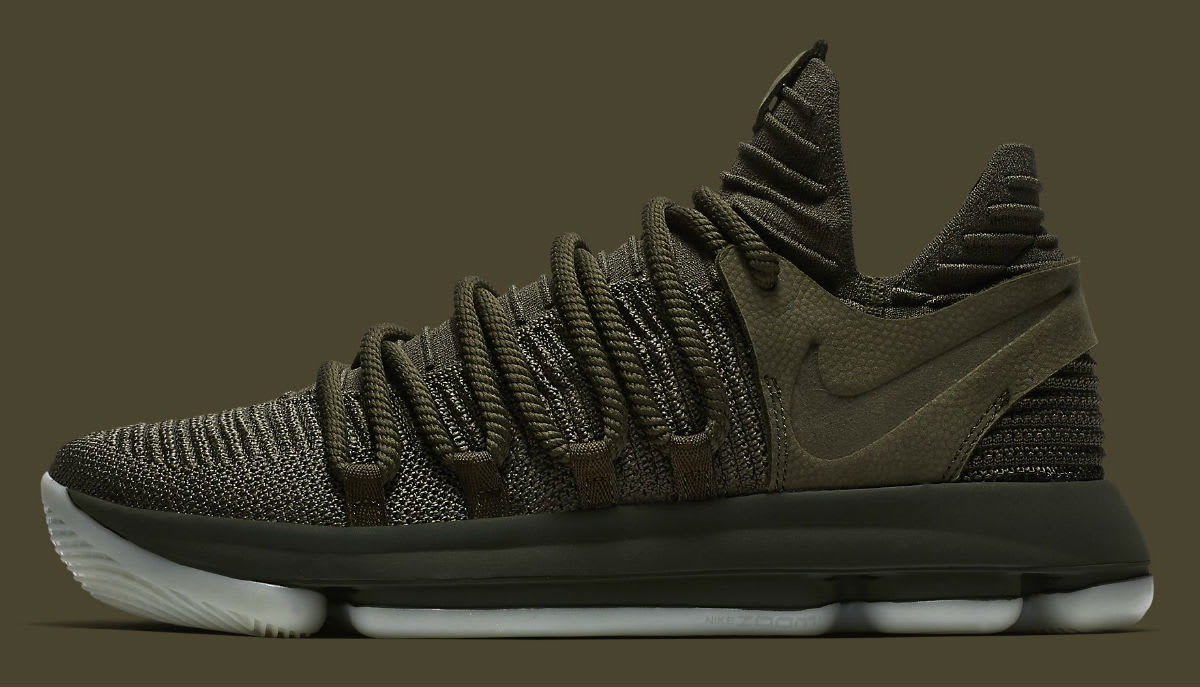 NikeLab KD 10 Olive Release Date Profile 943298-900
