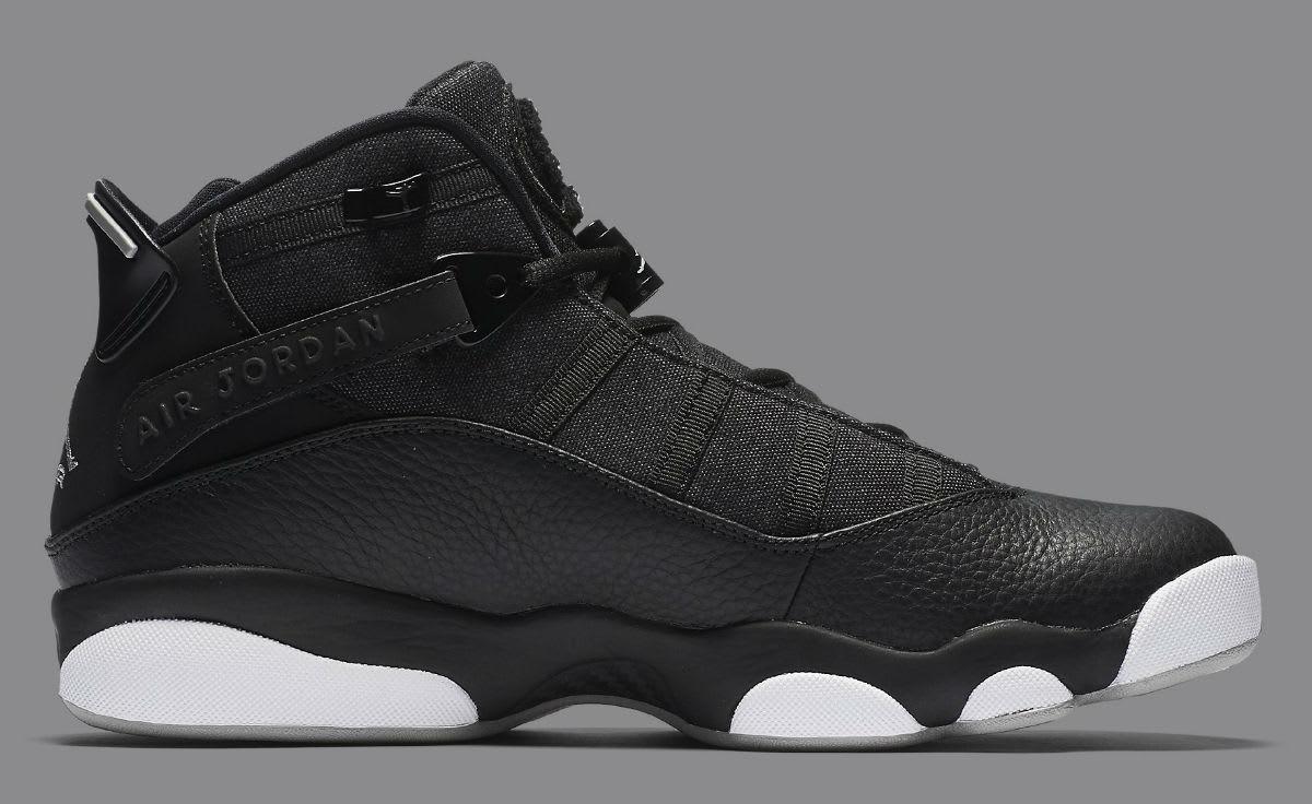 Jordan 6 Rings 2017 Black Silver Release Date Medial 322992-021