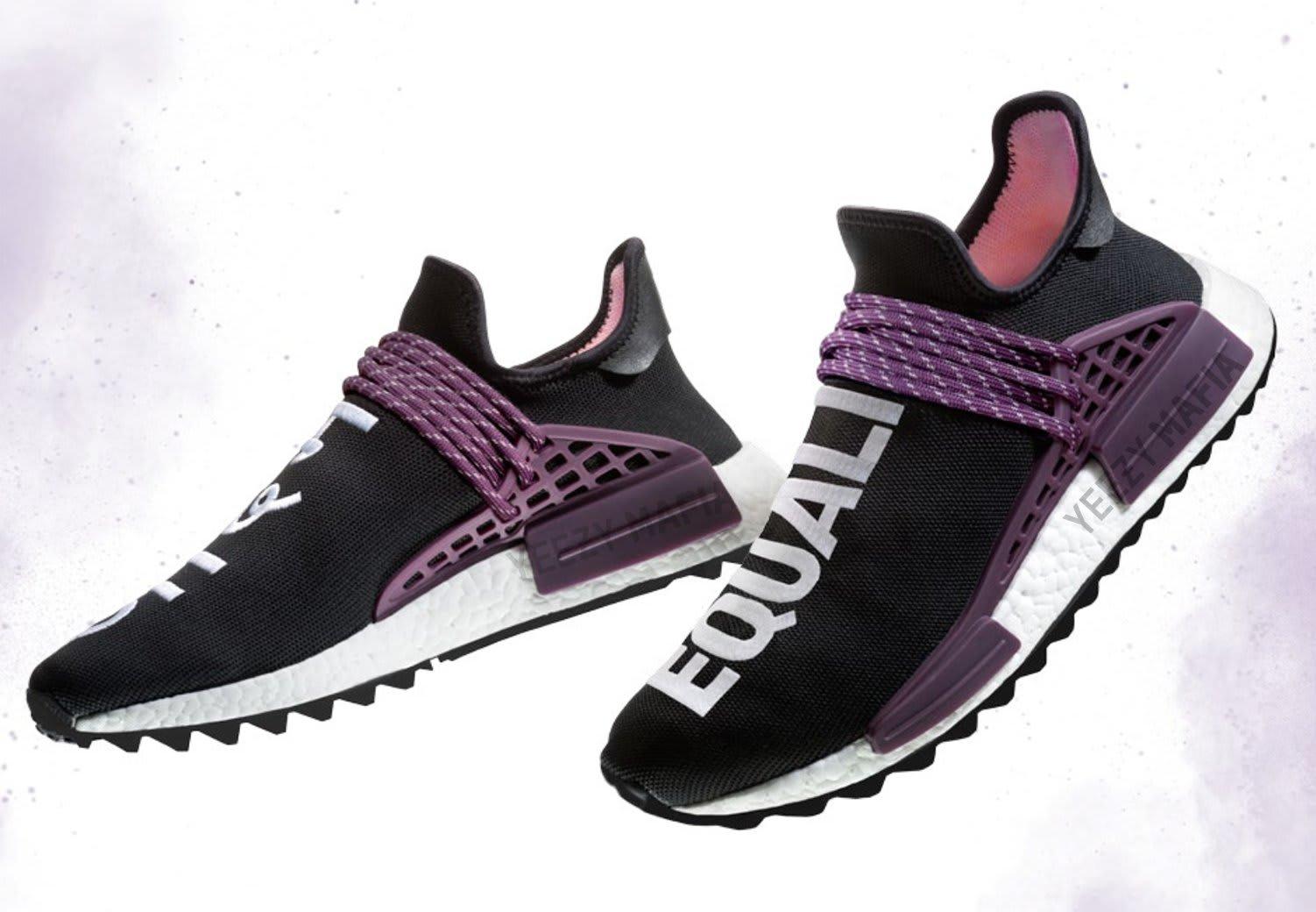 Pharrell x Adidas NMD Hu Holi Deepest Purple AC7033
