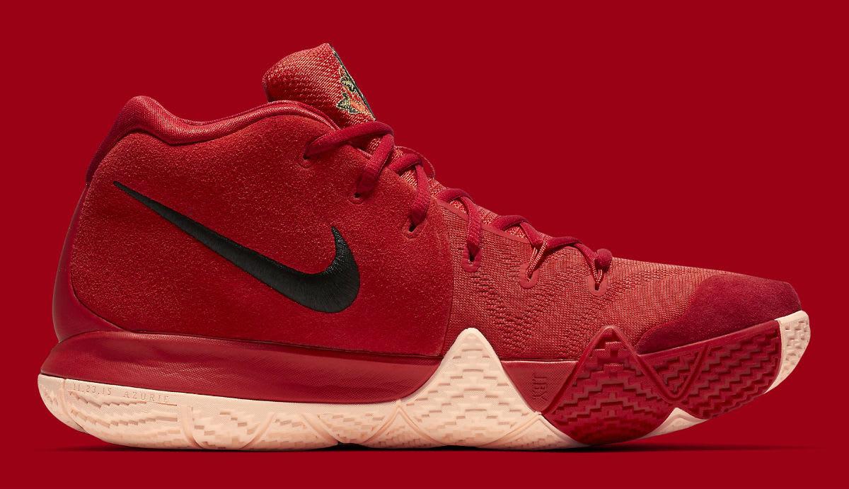 Nike Kyrie 4 CNY Release Date 943807-600 Medial