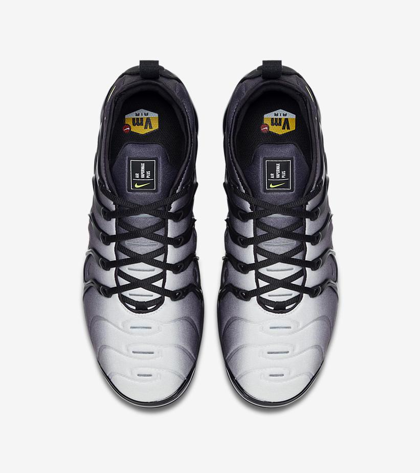 Nike Air VaporMax Plus 'Black/Volt' 924453-009 (Top)