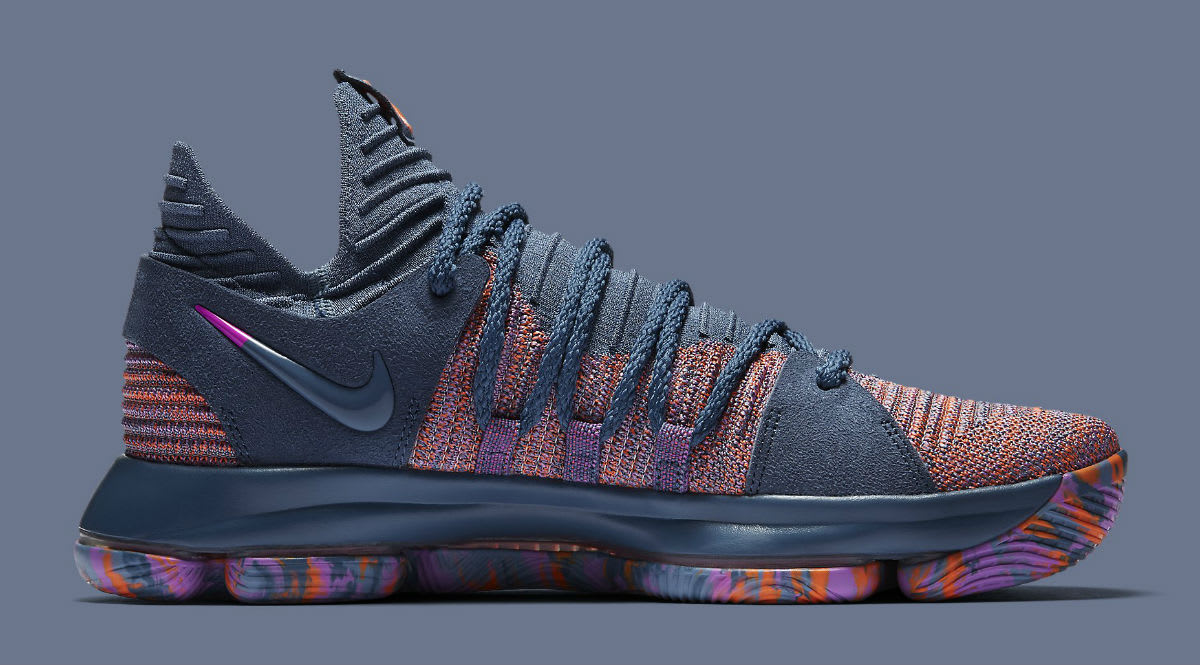 Nike KD 10 All-Star Release Date 897817-400 Medial