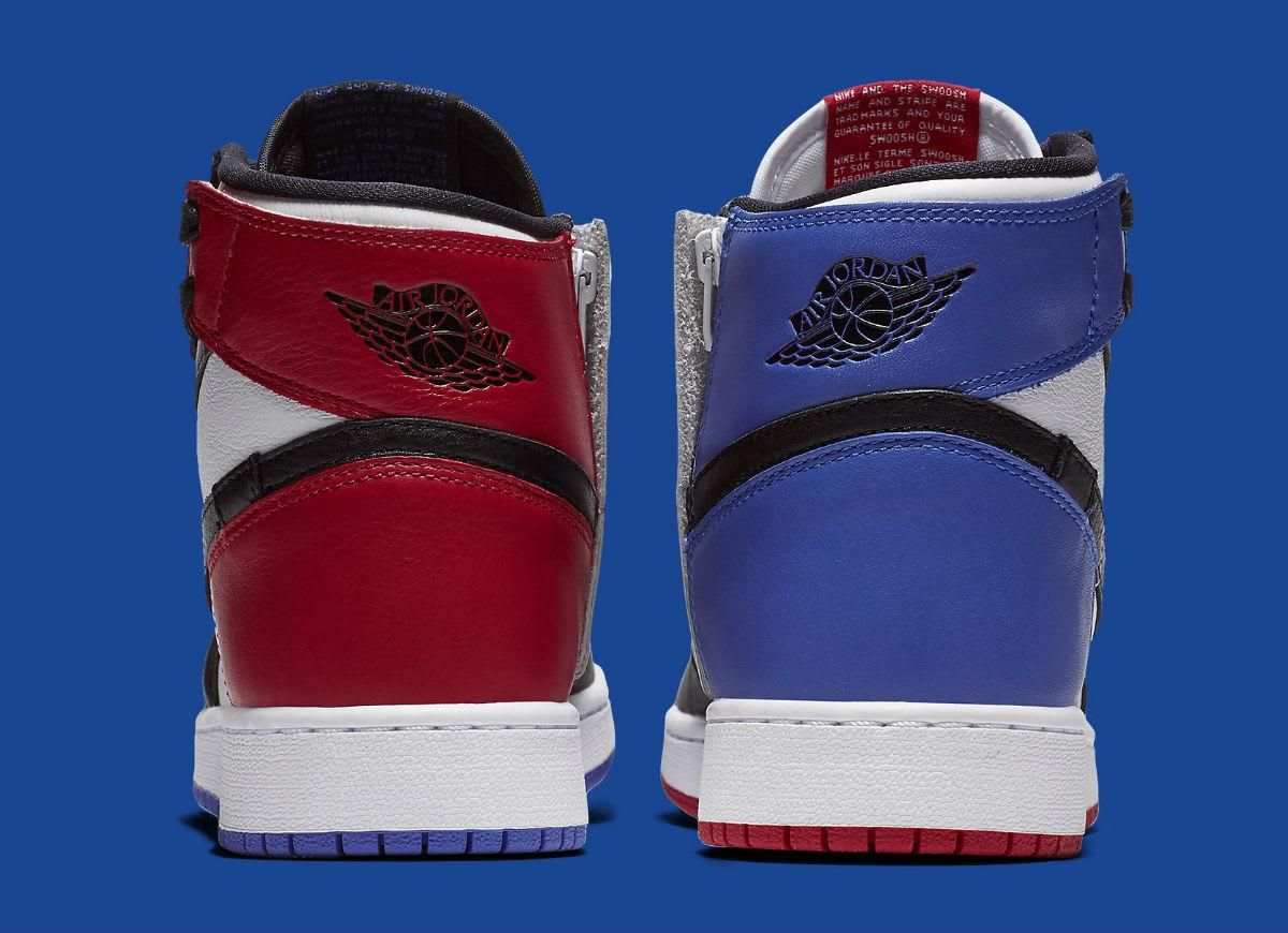 Air Jordan 1 Rebel XX Top 3 Release Date AT4151-001 Heel