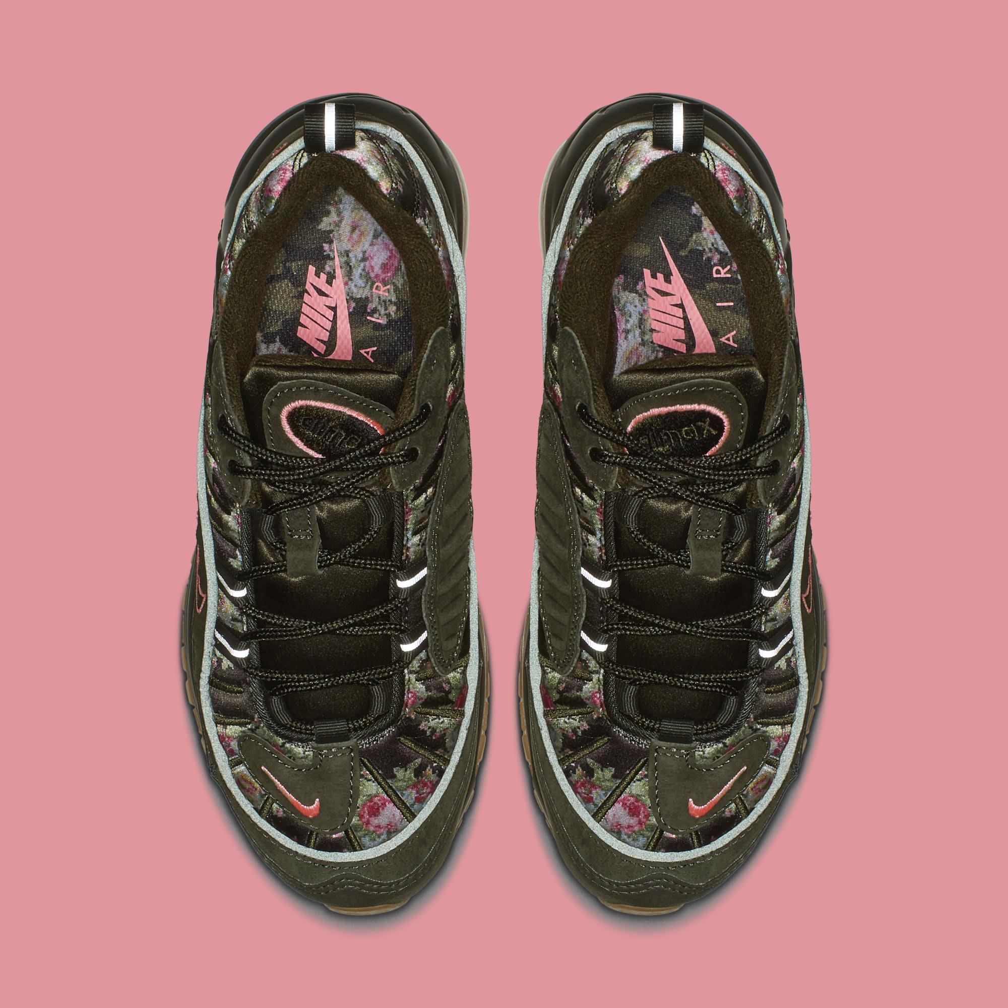 WMNS Nike Air Max 98 'Floral Camo' AQ6498-300 (Top)