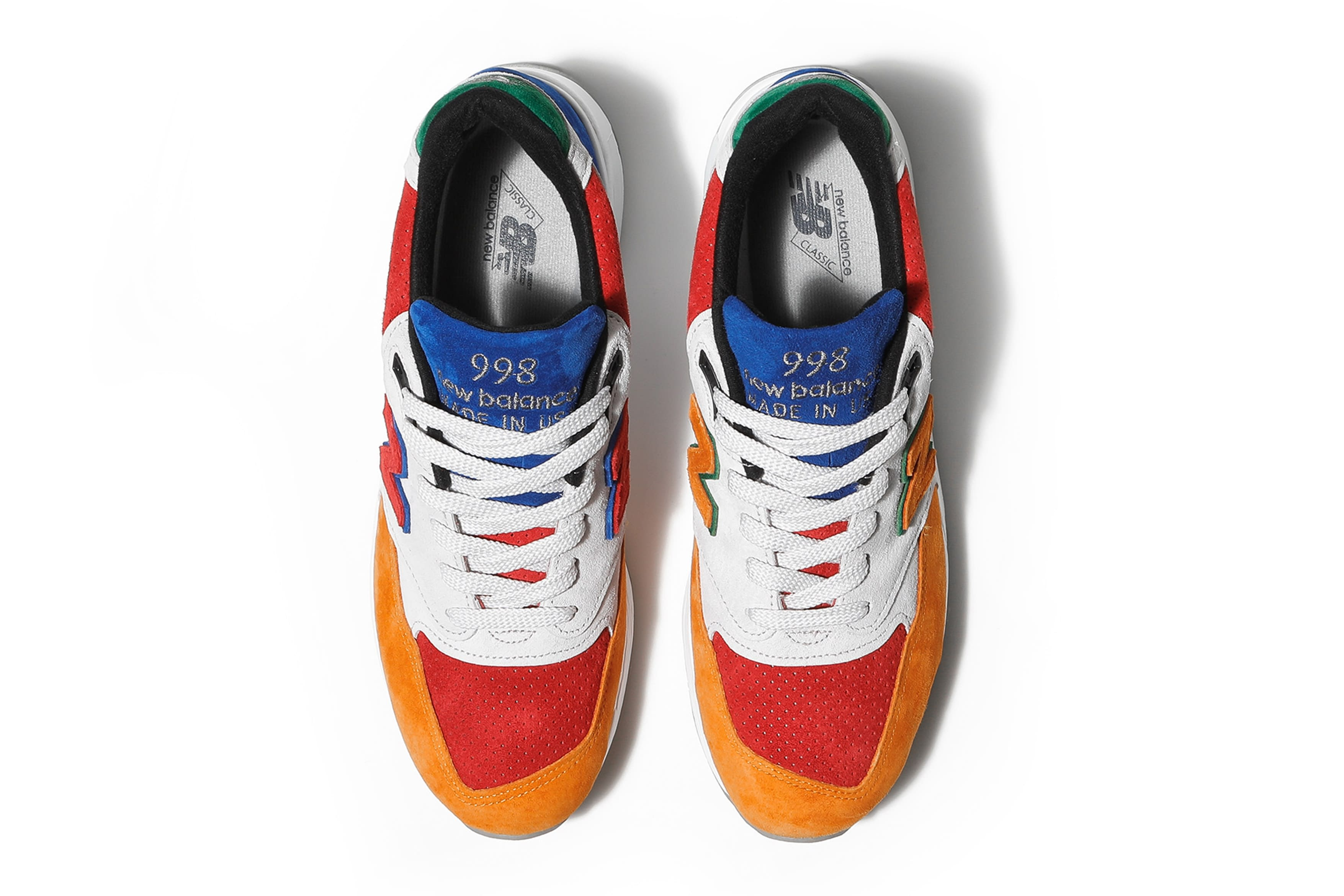 Bodega x New Balance 998 'Mass Transit' (Top)