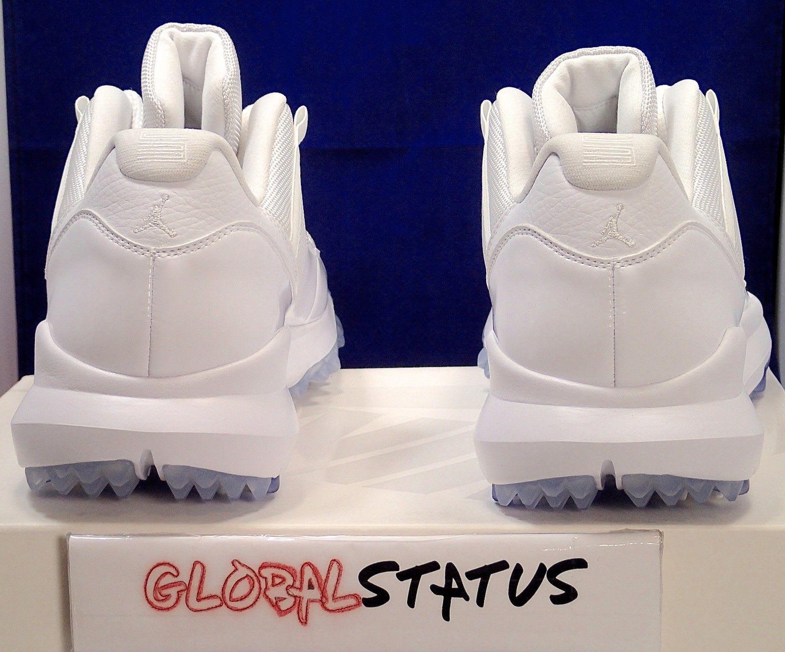 Air Jordan 11 Low White Golf Shoes Michael Jordan PE (5)