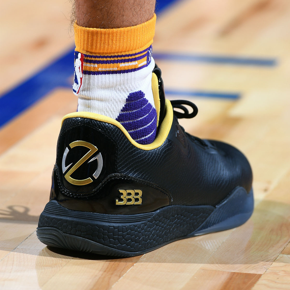 Lonzo Ball Gets First Triple-Double in the Big Baller Brand ZO2 (1)