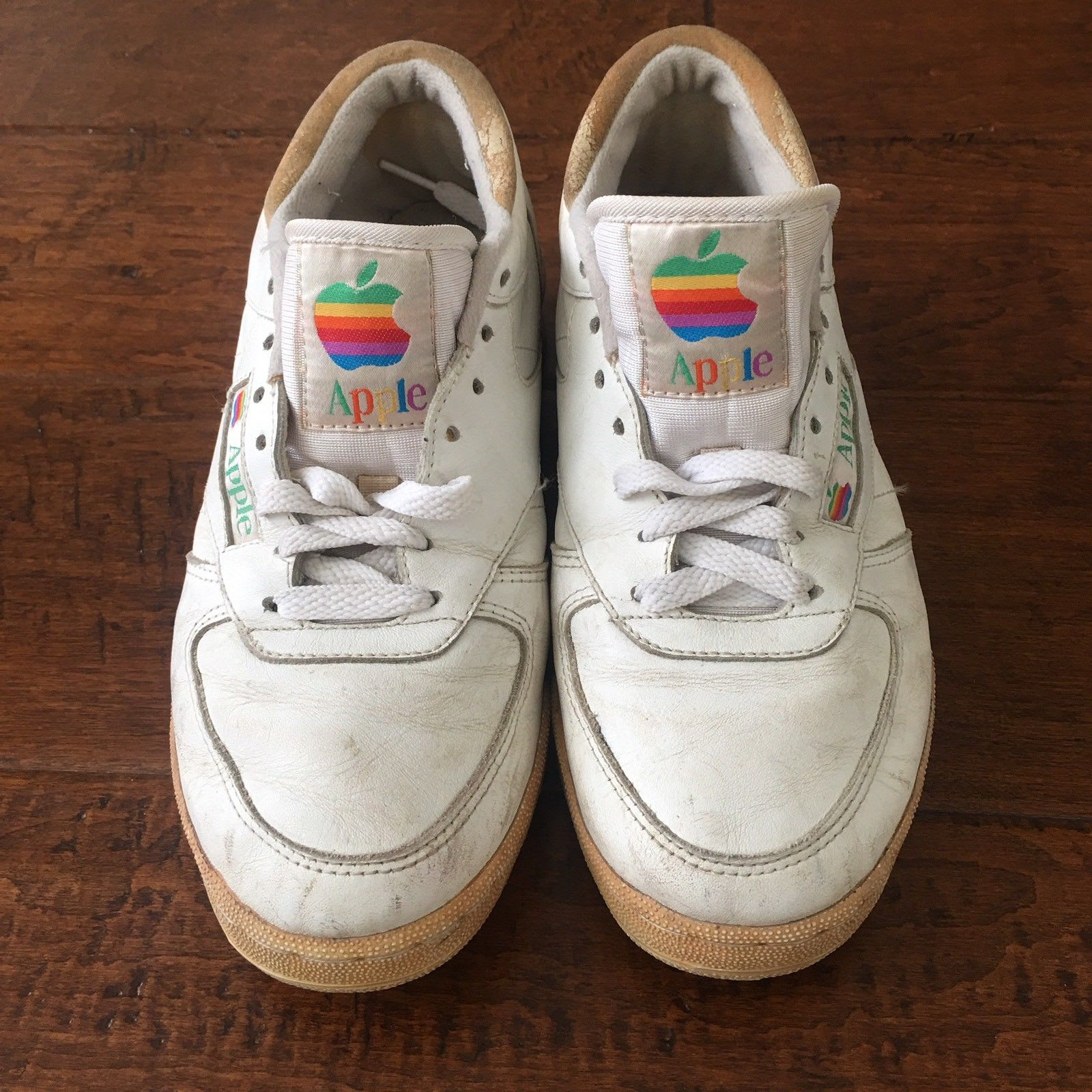 Apple Sneakers Mac Rainbow Logo Front