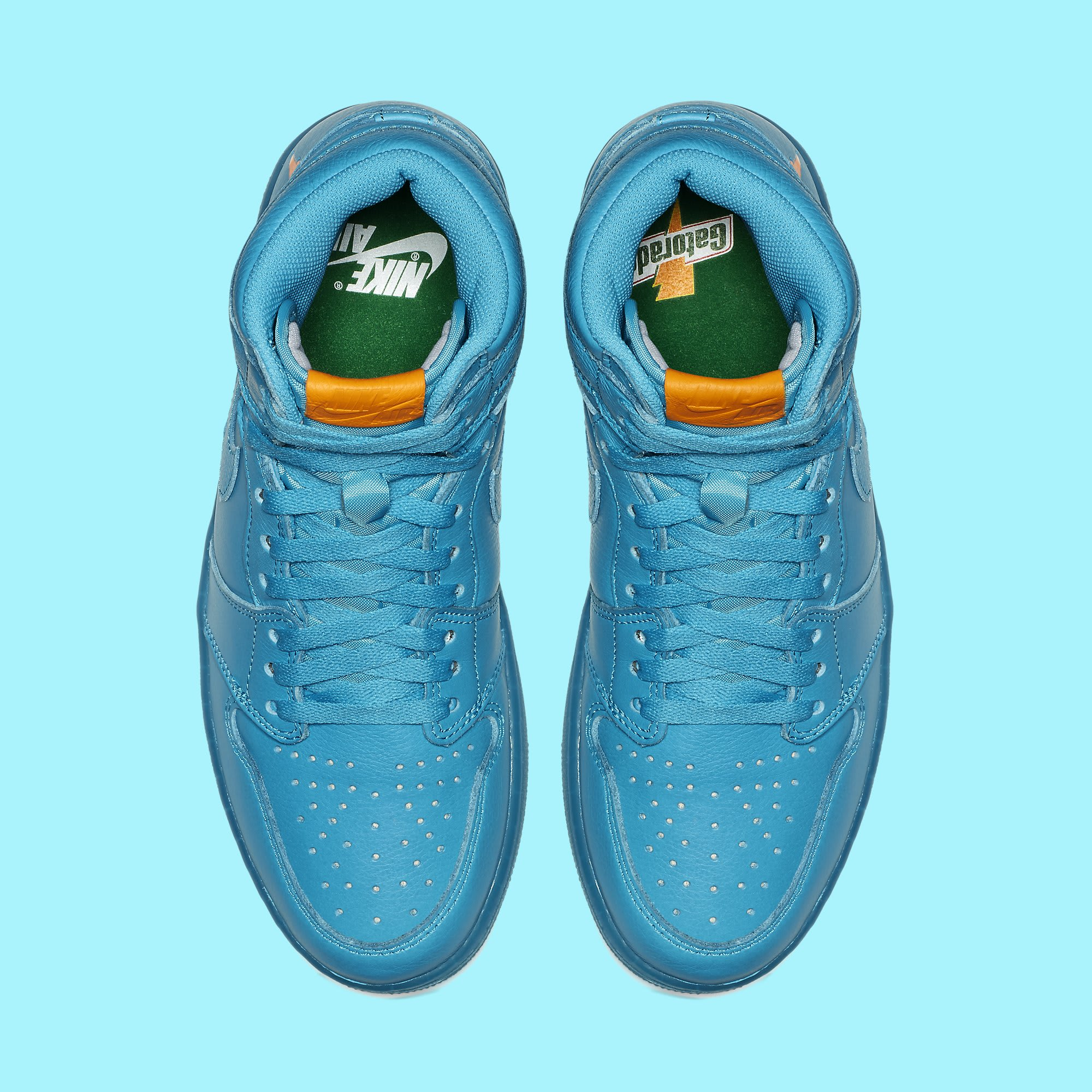 Air Jordan 1 High Gatorade Blue Lagoon AJ5997-455